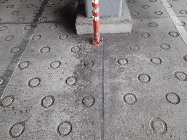 立体駐車場 糞害 清掃3