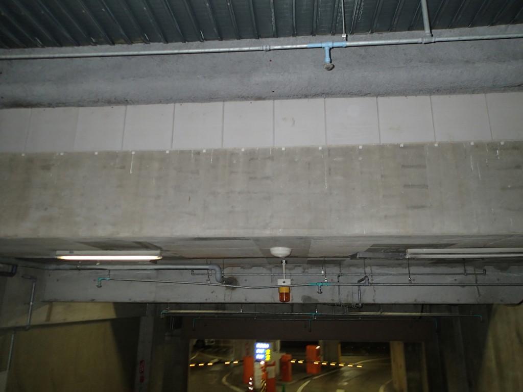 地下駐車場 ネット施工6