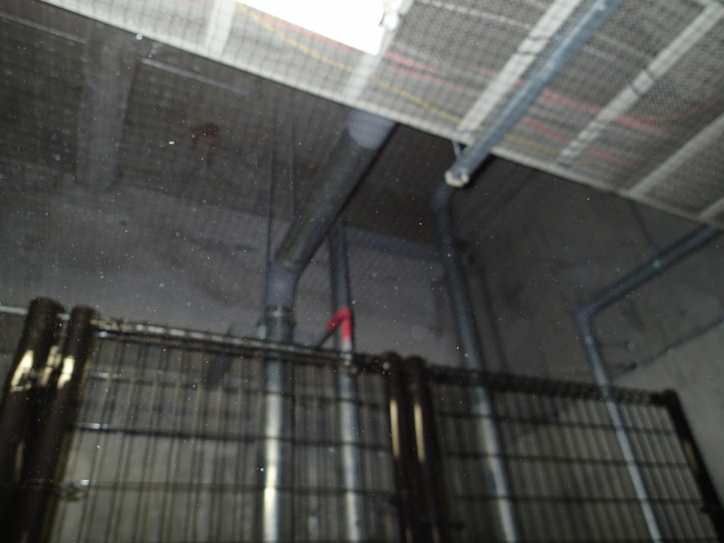 地下駐車場 ネット施工14
