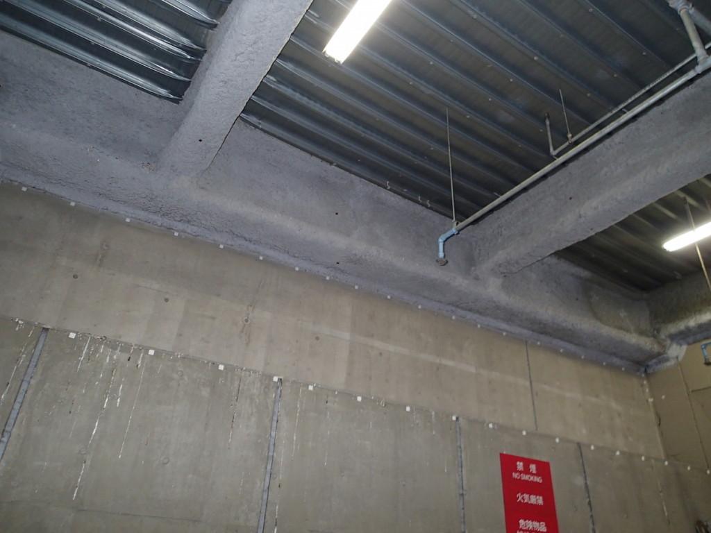 地下駐車場 ネット施工18