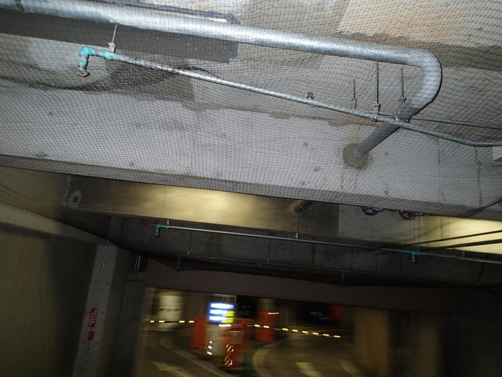 地下駐車場 ネット施工21