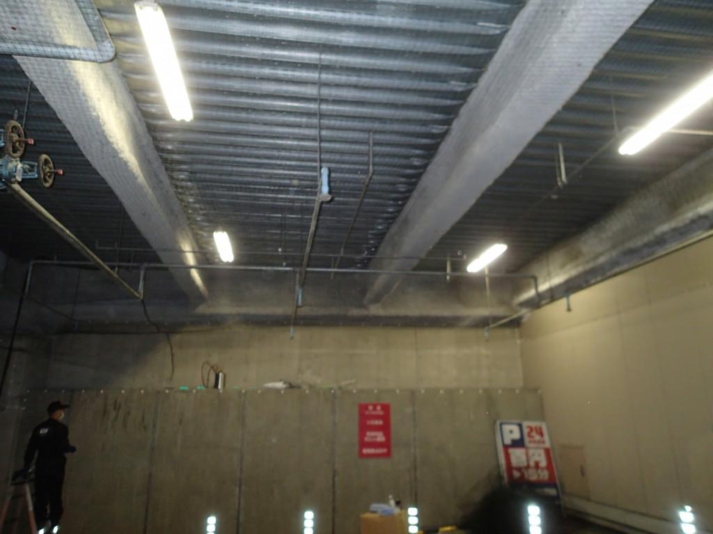 地下駐車場 ネット施工24