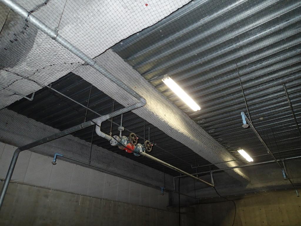 地下駐車場 ネット施工29